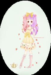 Strawberry tea by KellyEchavarria