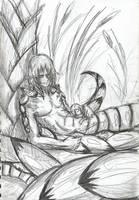 The Naga: Downtime by Venex123