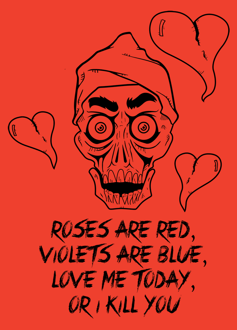 Achmedu0027s Valentines Poem By GunterSchobel ...