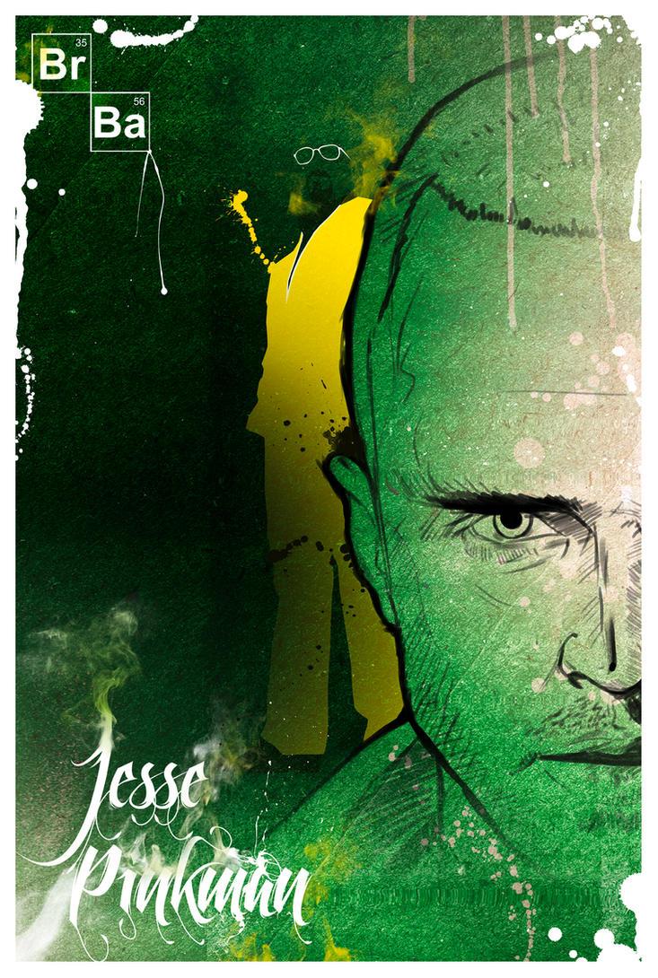 Jesse Pinkman - Breaking Bad by GustavBAD