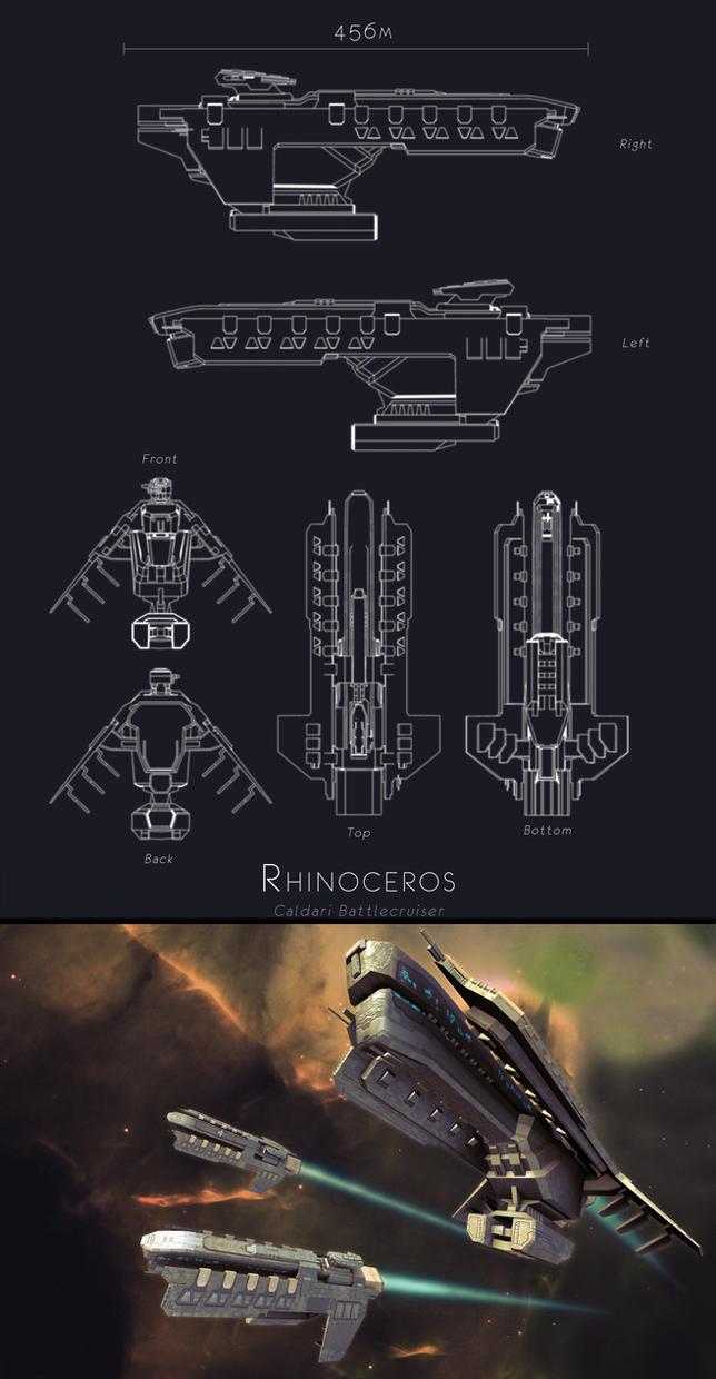 Eve Online - Rhinoceros by Skaiway