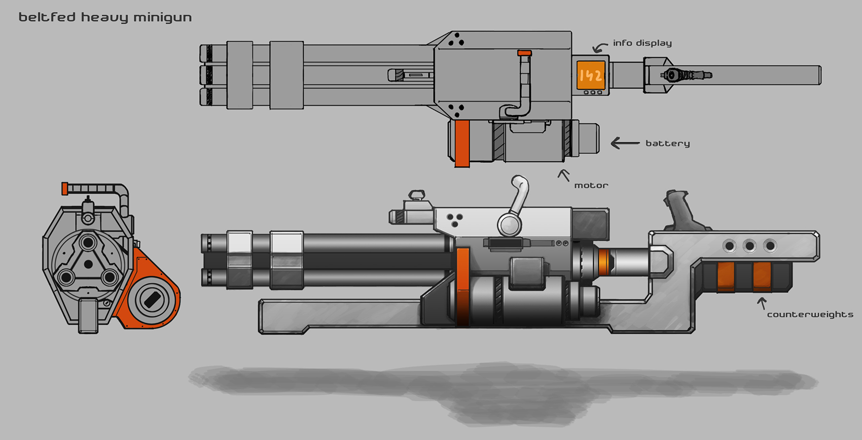 Minigun concept thingy by Skaiway