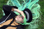 Amnesia - Ukyo - Laying in the grass