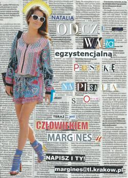 Margines advertisement collage
