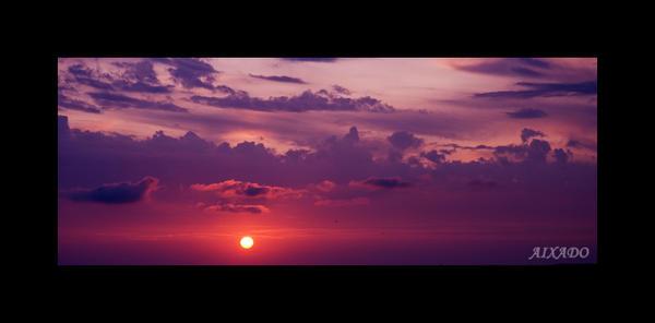 puesta de sol III by aixadophoto