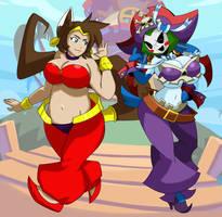 Collab - Half-Genie Hero by Obsessor23