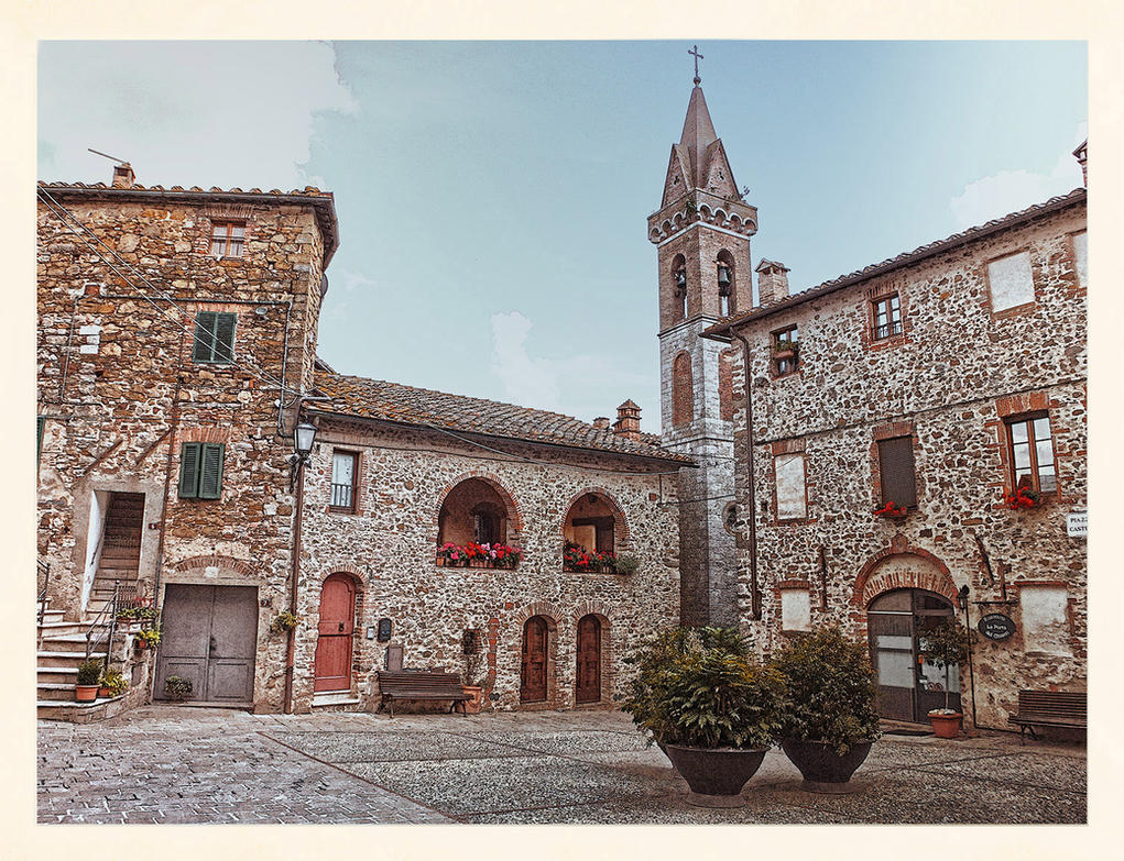 Castelli square by seianti