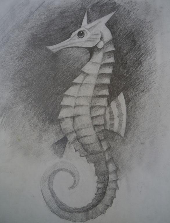 seahorse by tumptyhumpty