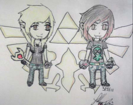 Zacky And I In Windwaker Form by UrEmoLover