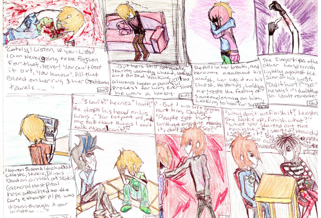Ordinarypeople Proj. Page1 by UrEmoLover