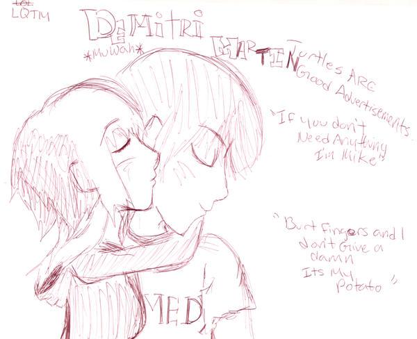 Demitri Martin Love by UrEmoLover