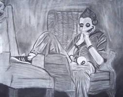 sitting figure by changanghua