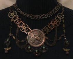 steampunk chainmaille by changanghua