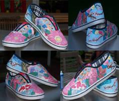 garden shoes by changanghua