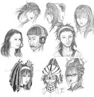 Sketch Dump 2 by changanghua