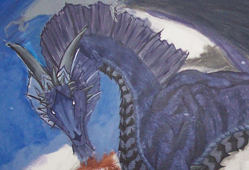 dragon bust by changanghua