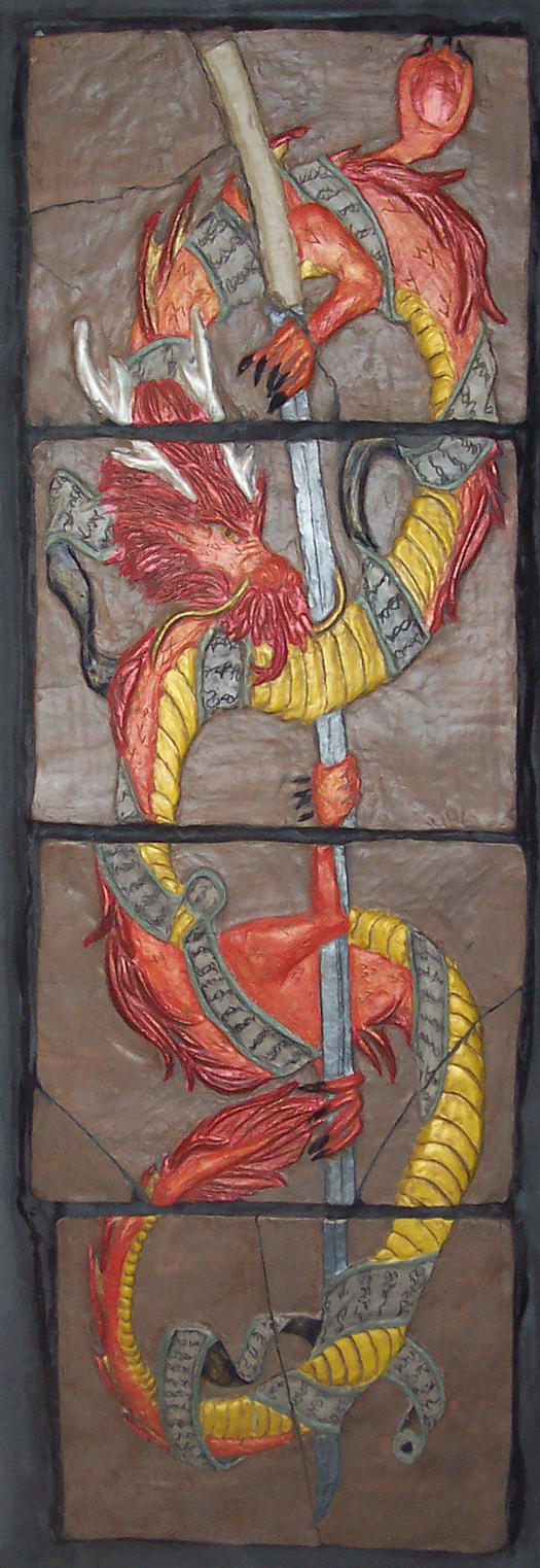 dragon tiles by changanghua