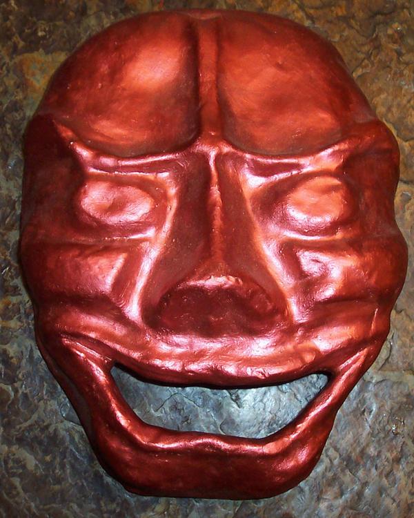 plain oni mask by changanghua