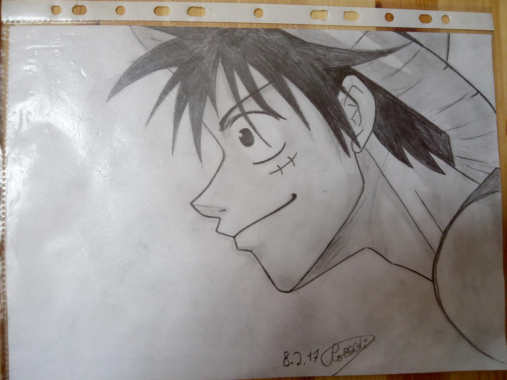 luffy 2.0 by deathdreamerx3