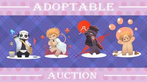 Adoptable Auction Special - Cutiemals by YukiArtPhi