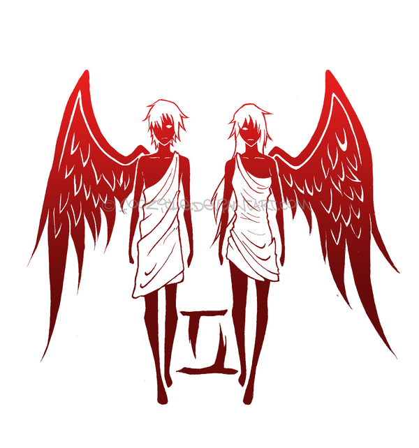 Gemini by foozicle on deviantart for Gemini and cancer tattoo