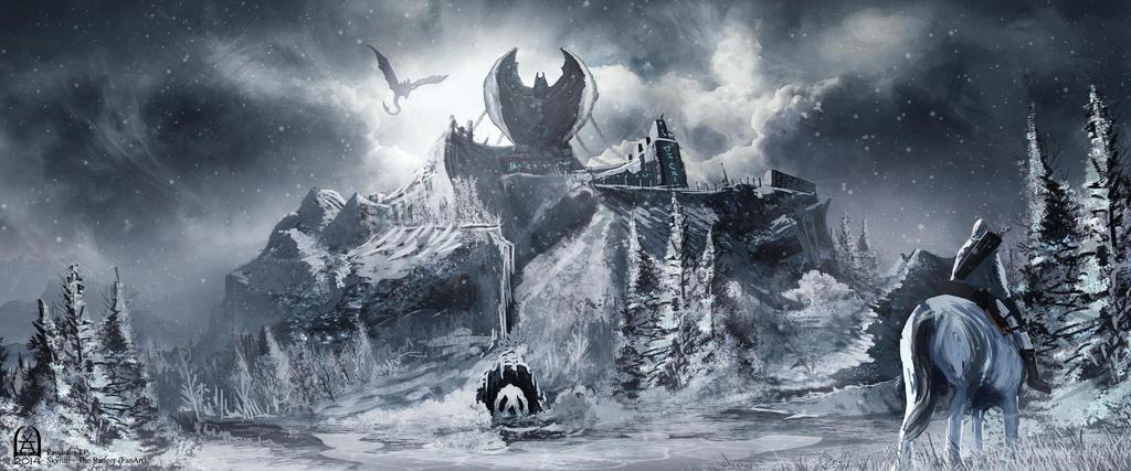Skyrim - The Ranger (FanArt) by PaschalisLP