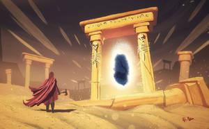 Desert Pillars - Enter the immortality
