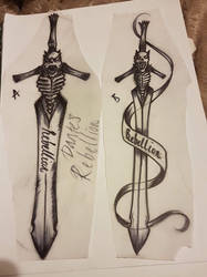 Dante's Rebellion Tattoo Design by NikkiSixxIsALegend