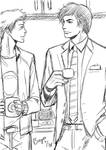 Doodlez : Coffee? by Bayou-Kun