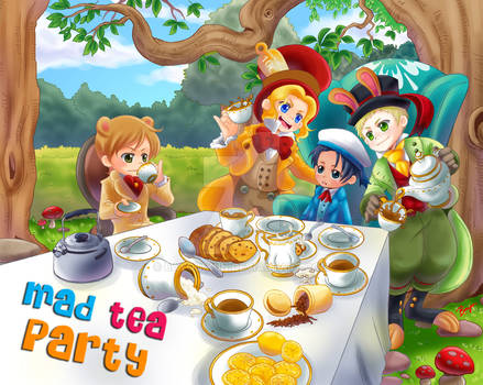 Nusantara:Mad Tea Party