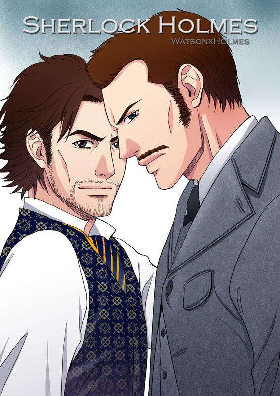 Sherlock Holmes by Bayou-Kun