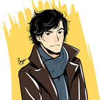 Sherlock BBC - quick doodle
