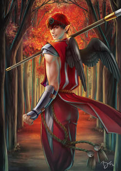 Kurobasu AU - Guardian of the Red Forest