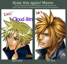 Draw This Again - Cloud 2005-2014 by Bayou-Kun