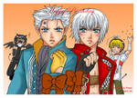 Com-Art : ++DMC B'day Card++ by Bayou-Kun