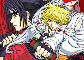 ++Hokage Naruto-ANBU Sasuke++ by Bayou-Kun