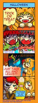 Naruto 4-coma: Halloween by Bayou-Kun