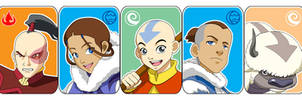 Avatar : The characterz by Bayou-Kun