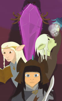 Dark Crystal Series fan art