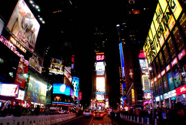 times square 2 by thepaperlantern