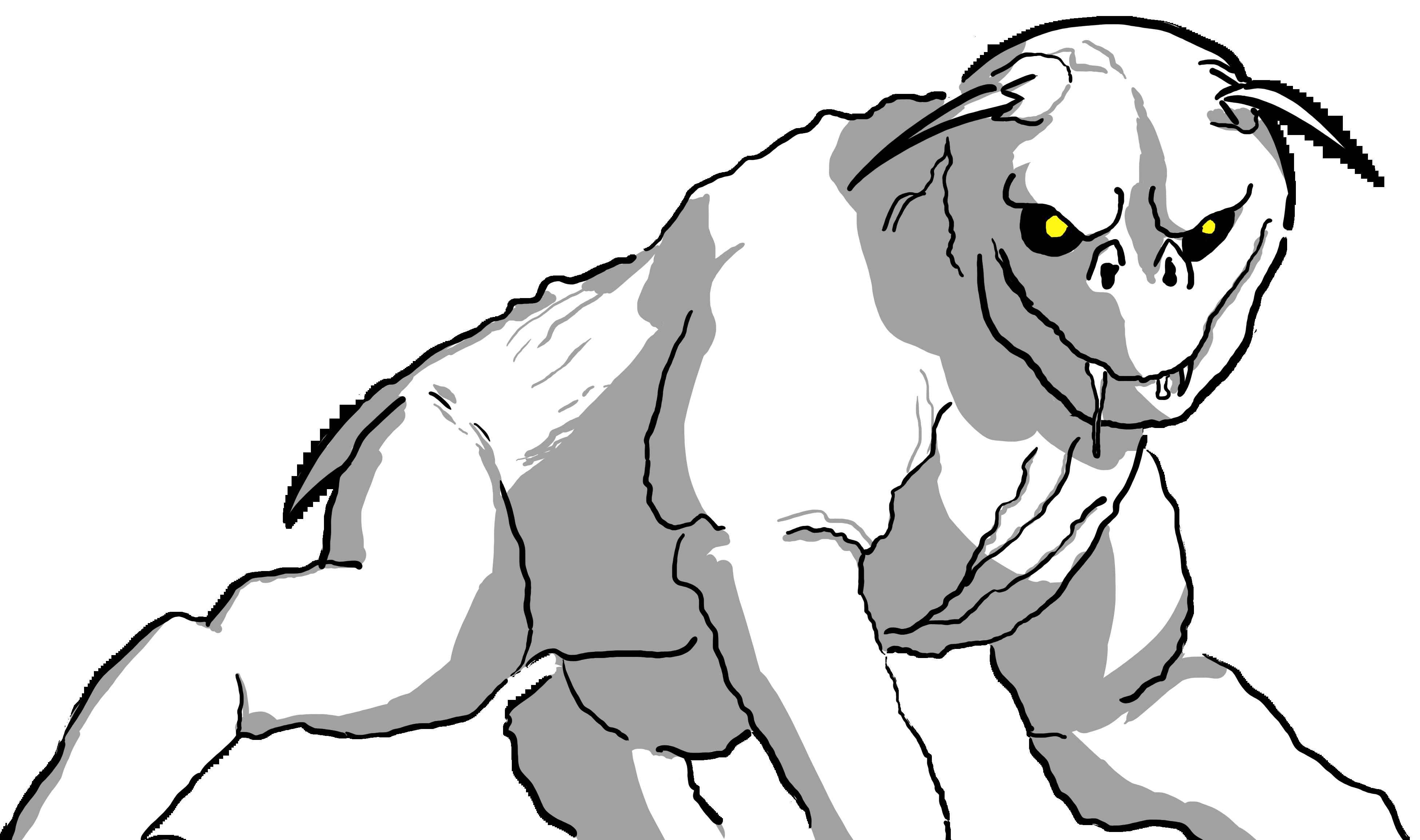 Terror Dog by KathDimitry