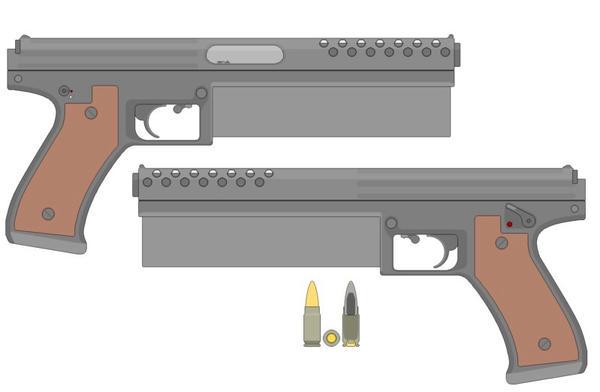 Pistols by Gamey3