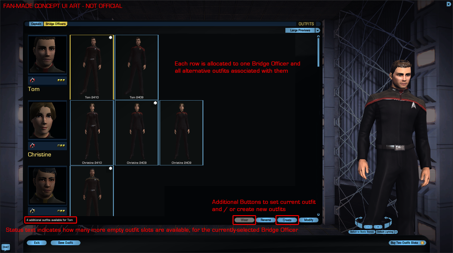 Sto doff mission slots
