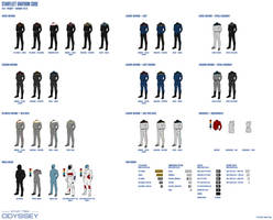 Starfleet Uniform Code: 2413 - Present by sumghai