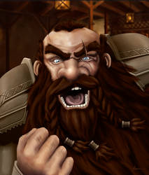 Dwarven Rage by Chrissante