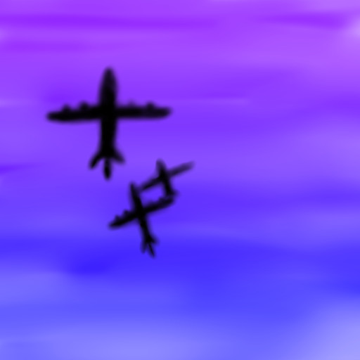 Airplanes Migrating by DragonarySilver