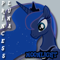 My Little Pony: Music is Magic - Princess Luna by tehAgg
