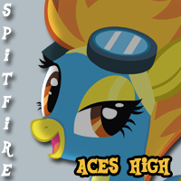 My Little Pony: Music is Magic - Spitfire by tehAgg