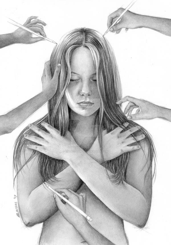 Self Portrait - Draw Me by Cataclysm-X