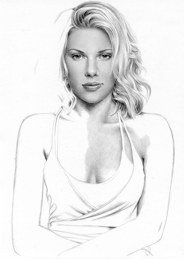 Scarlett Johansson WIP 1 by Cataclysm-X